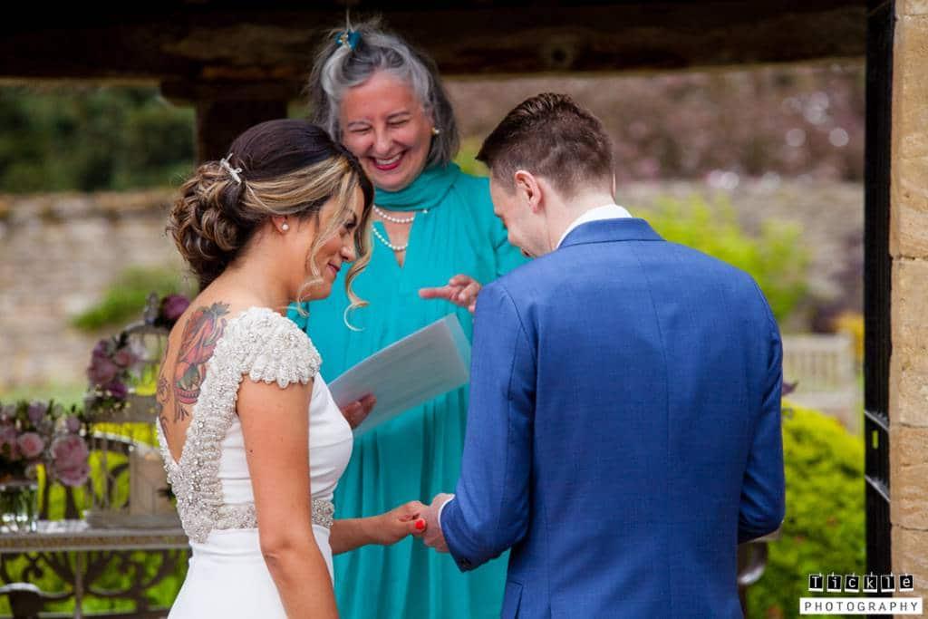 Celebrant wedding conducted by Catherine Kentridge