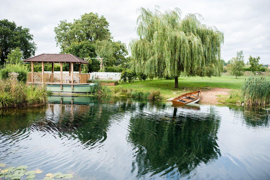 lakeside ceremony area
