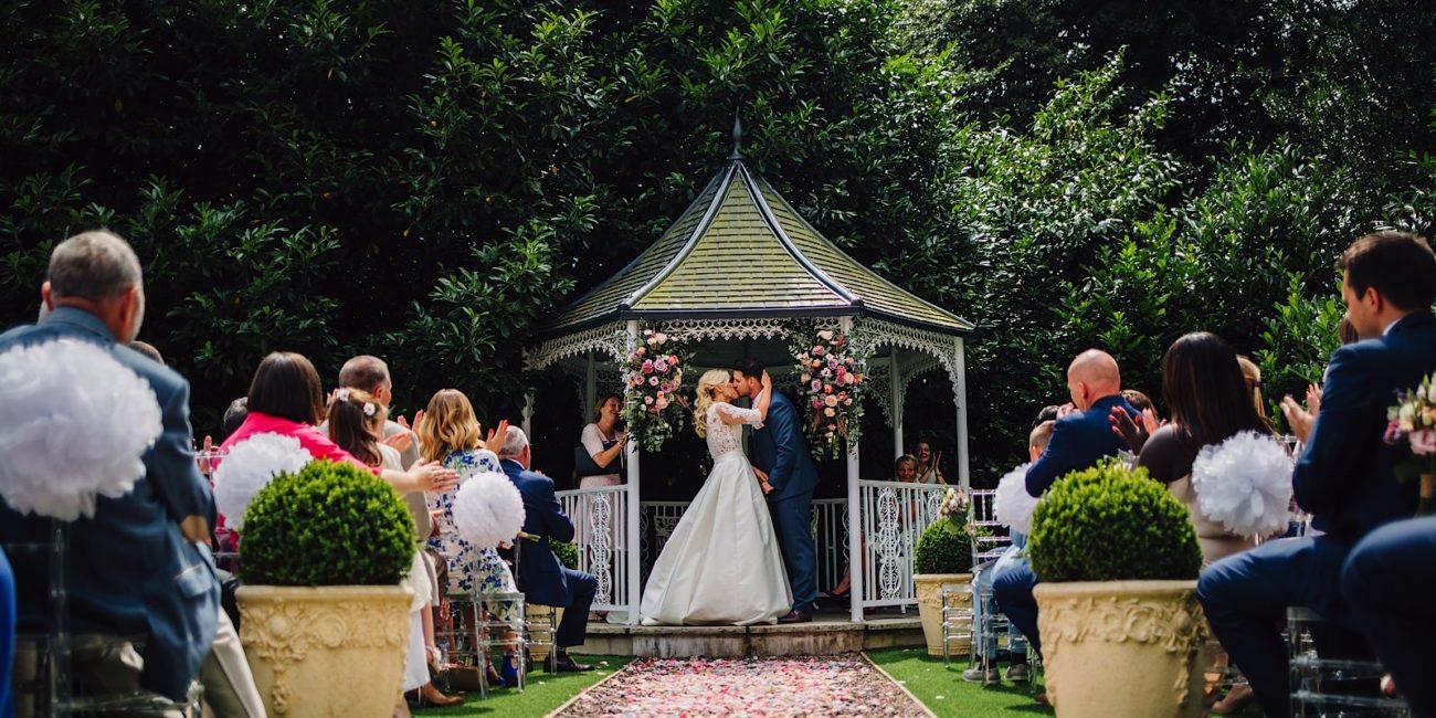 Pendrell Hall, outdoor wedding venue in Staffordshire