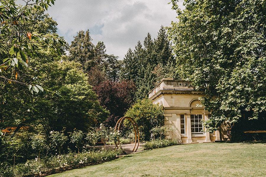 Temple of Minerva & Botanical Gardens